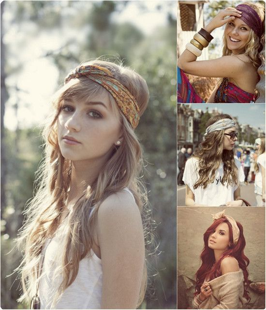 bandana styles for hair why not try hair accessories in this autumn medium 1284