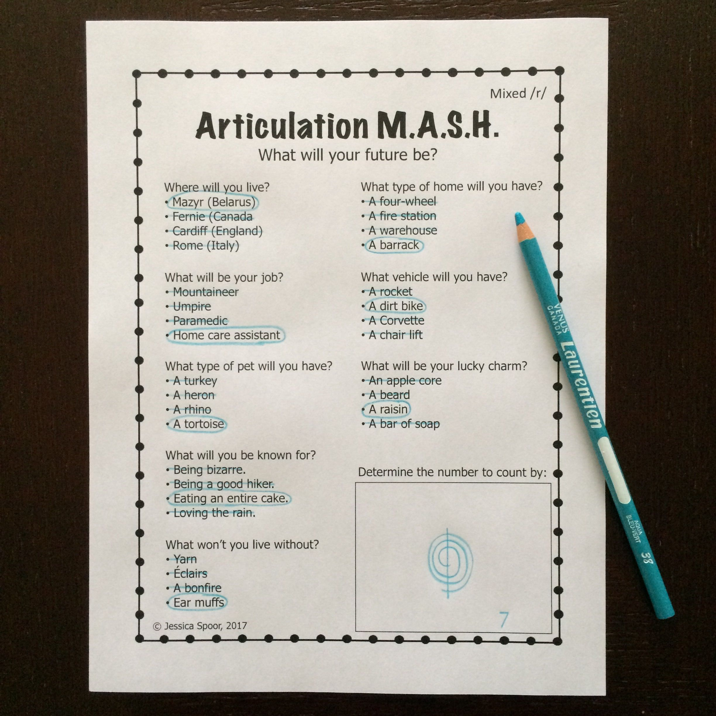 Articulation Mash Mixed R Freebie