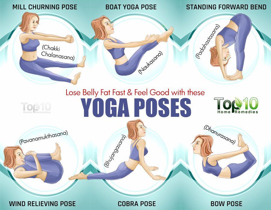 Lose Belly Fat Fast And Feel Good With These Yoga Poses Yoga
