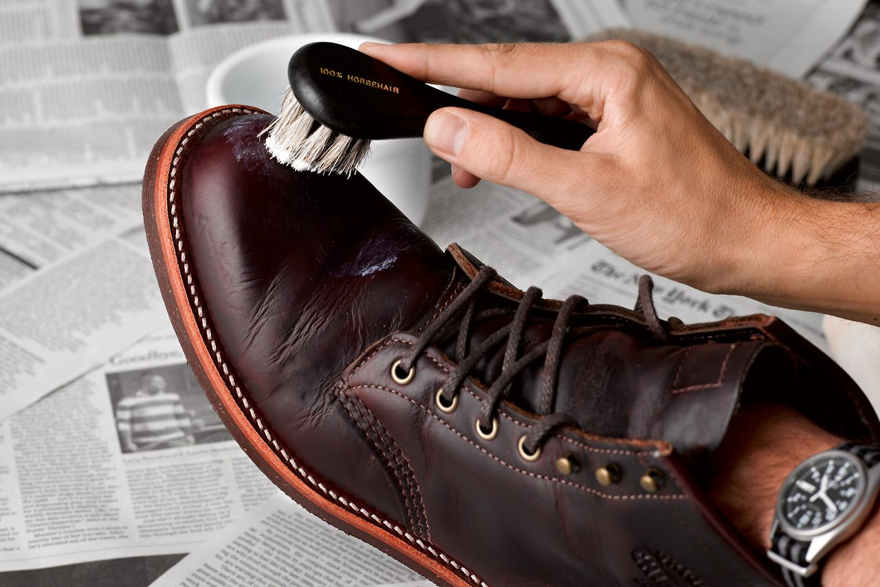 How-to: Shoe Care A step-by-step guide