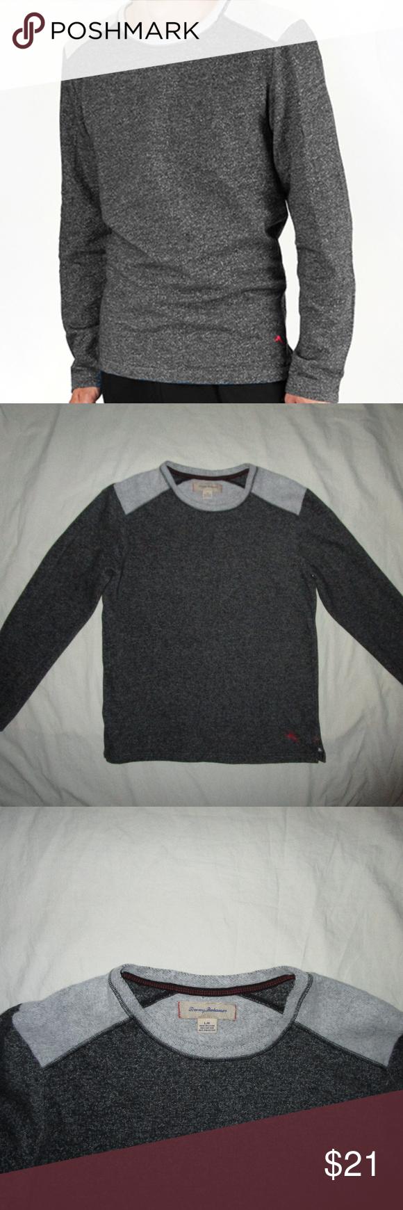 Tommy Bahama L Gray Fleece Lounge Sweat Shirt Mens Sweatshirts Tommy Bahama Shirts Sweatshirt Shirt [ 1740 x 580 Pixel ]