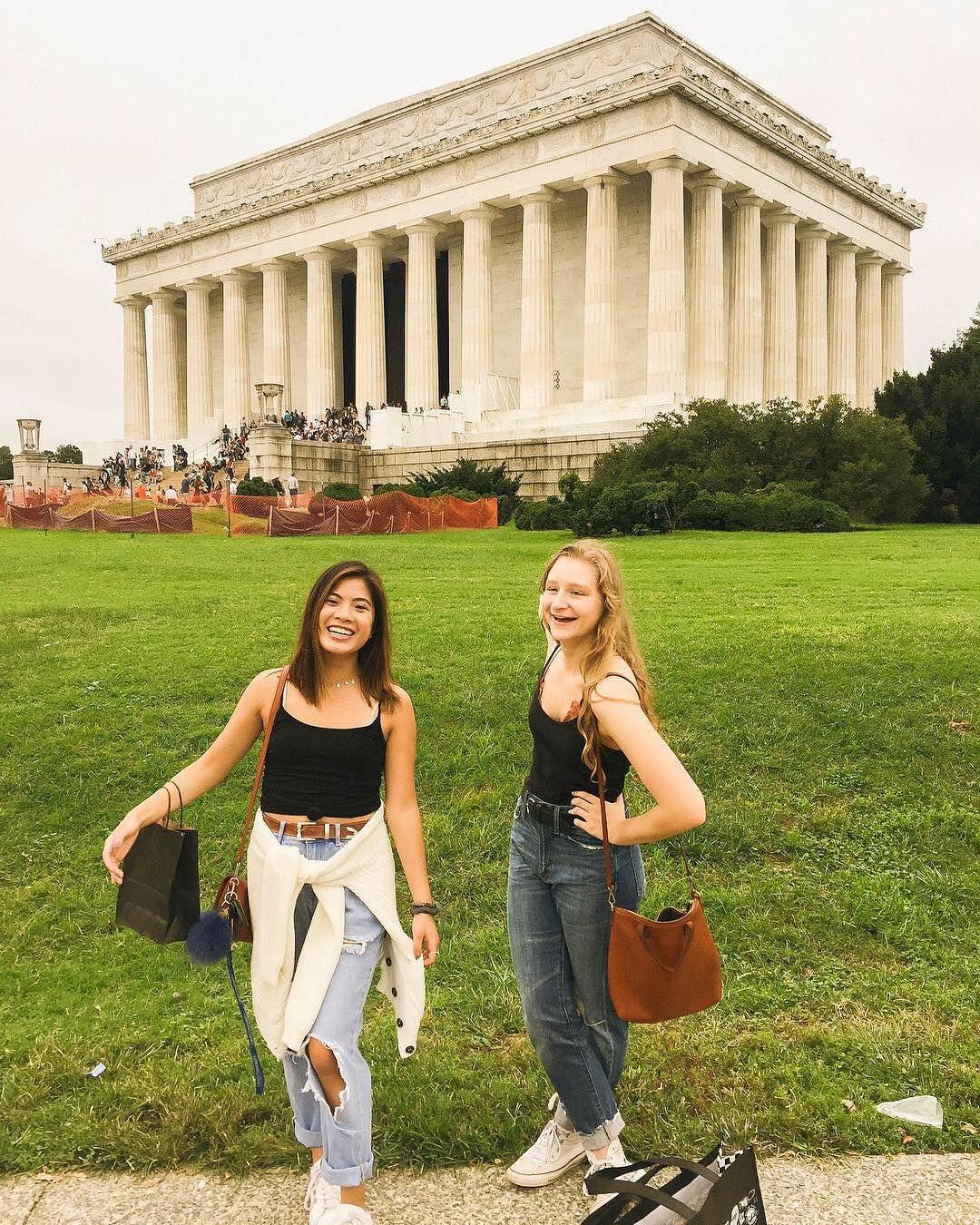Insta Ariel Alena Washington Dc Lincoln Memorial My Best Friend Instagram Best Friends