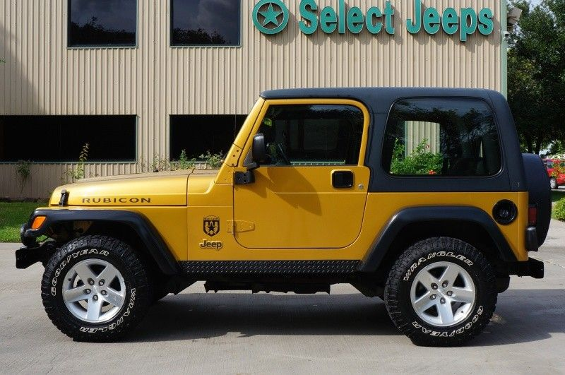 Rare Rubicon Combination in Inca Gold only available in 2003 ...