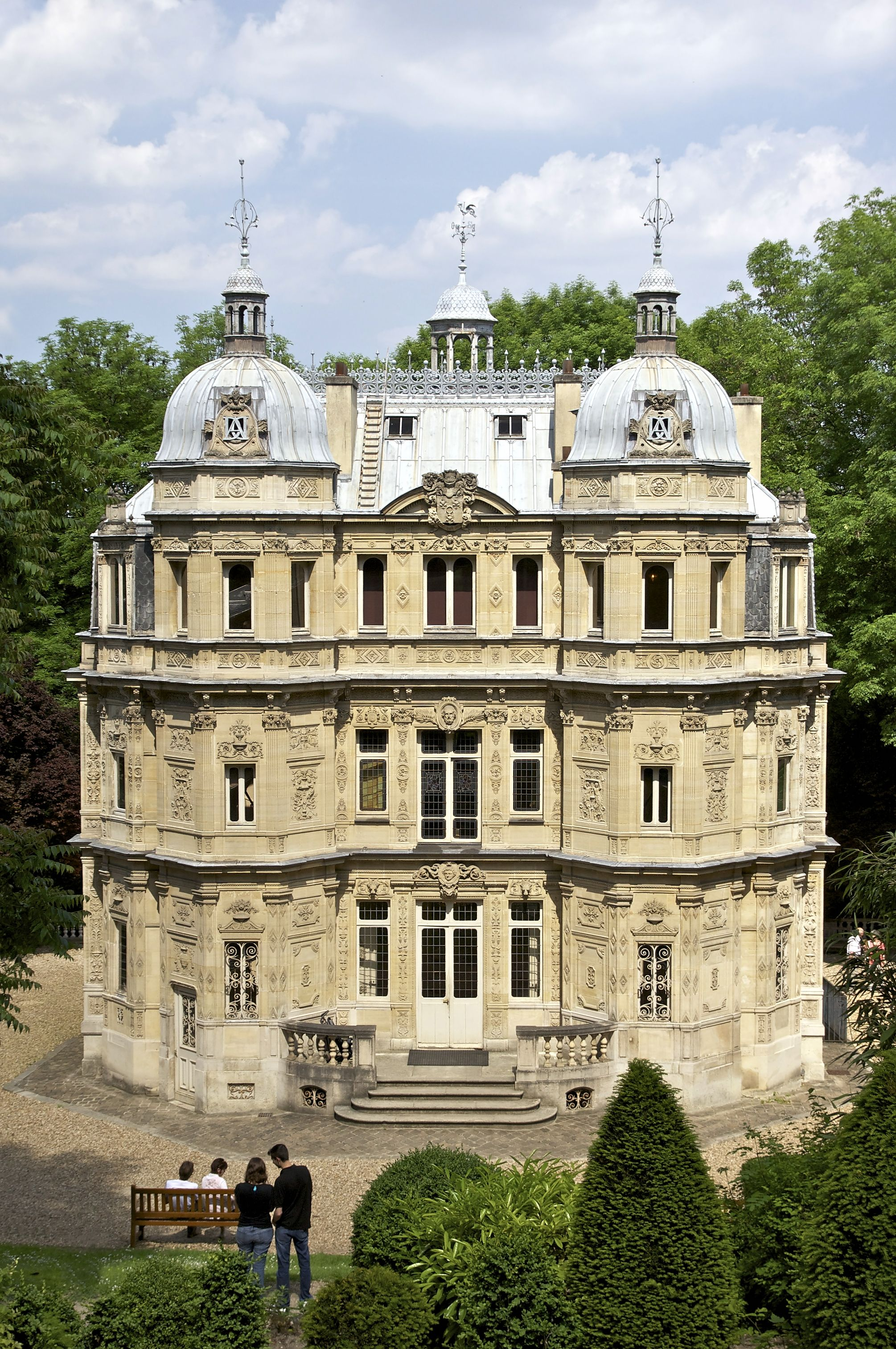 Not far from chateau marly modern tourist visit alexandre dumas chateau monte cristo marly france that was built in 1846 google search
