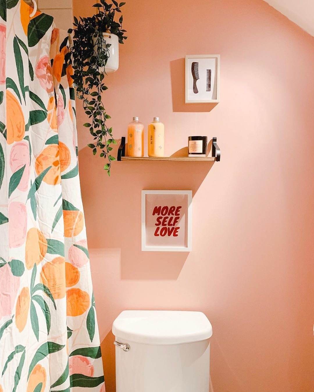 """Photo of alexandra gater on Instagram: """"Have you seen my new video yet? I show you how just a few key changes can make a teeny tiny bathroom the most stylish ever! Swipe up in…"""""""