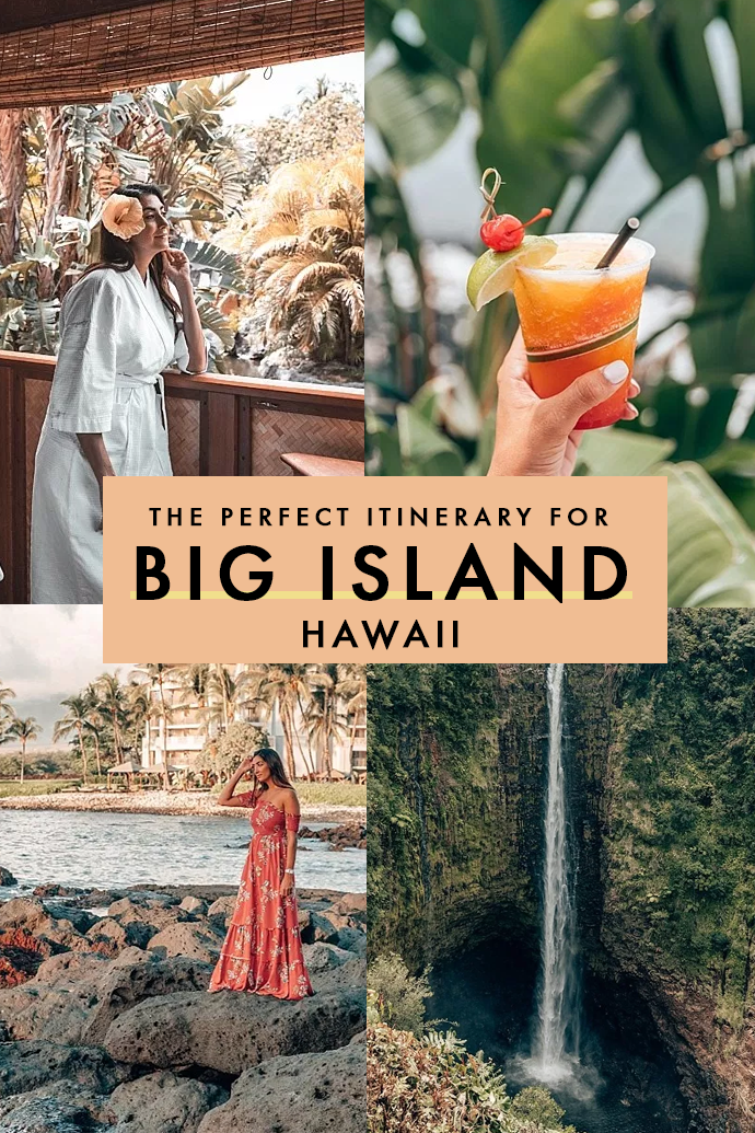 Big Island in Hawaii is one of the most alluring destinations in the United States. Looking for a perfect Big Island itinerary with some of the best things to do and tips on where to stay if you're looking for an adventurous but luxurious stay in Big Island? I've got you covered with this 5-day guide to Big Island! #Hawaii
