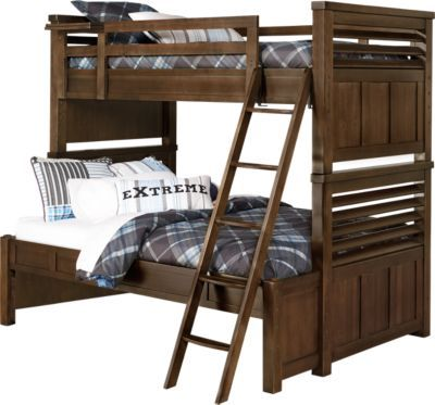 Shop For A Boulder Twin Full Bunk Bed At Rooms To Go Kids Find That