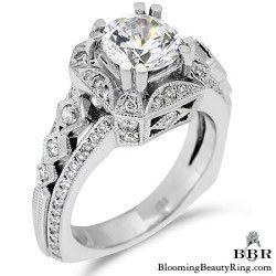 Newest Engagement Ring Design - nrd-355