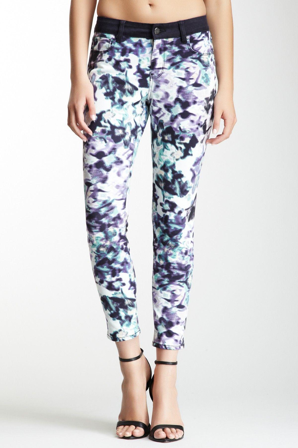 Watercolor jeans
