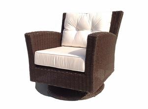 Wondrous Margate Outdoor Swivel Chair 670 50 Alum Sunbrella Good Inzonedesignstudio Interior Chair Design Inzonedesignstudiocom