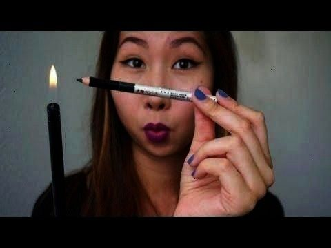 How to revive old pencil liners  tamaralisse  YouTube  Easy winged liner  How to revive old pencil liners  tamaralisse  YouTube Easy winged liner  How to revive old penc...