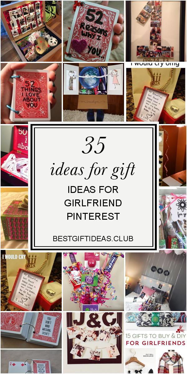 35 Ideas For Gift Ideas For Girlfriend Pinterest