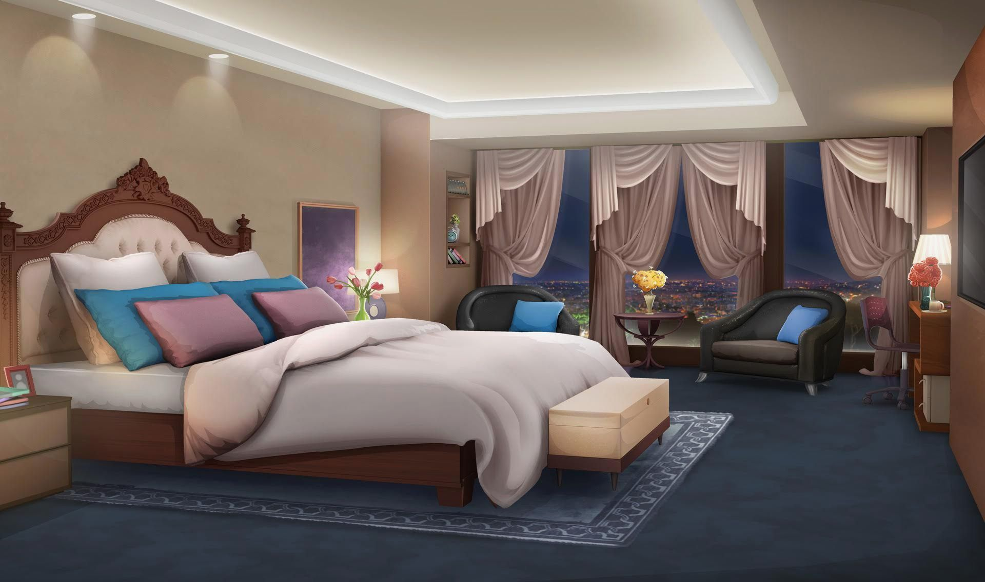 Anime Schlafzimmer Dekor Episode Interactive Backgrounds
