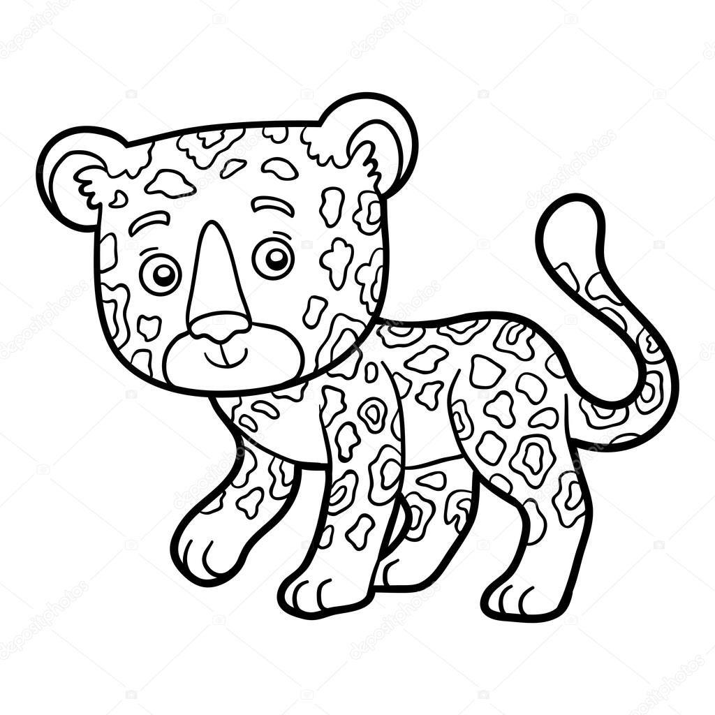 Livre De Coloriage Pour Les Enfants Jaguar