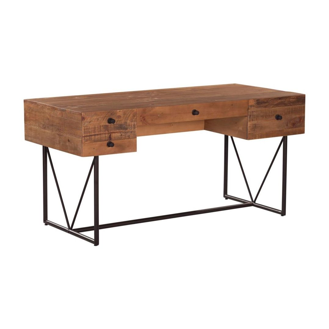 Furniture And Decor For The Modern Lifestyle Reclaimed Wood Desk