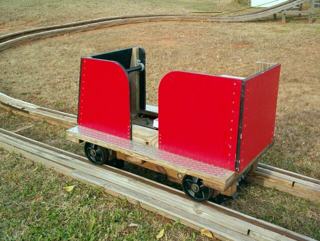 Homemade Roller Coaster Cars Home Made Wood Roller Coaster