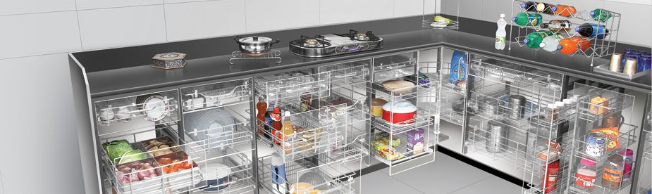 Modular Kitchen Baskets Designs. Prime Gold has emerged as a leading kitchen basket manufacturer  supplier and trader of large number modular Give your complete makeover by installing modern