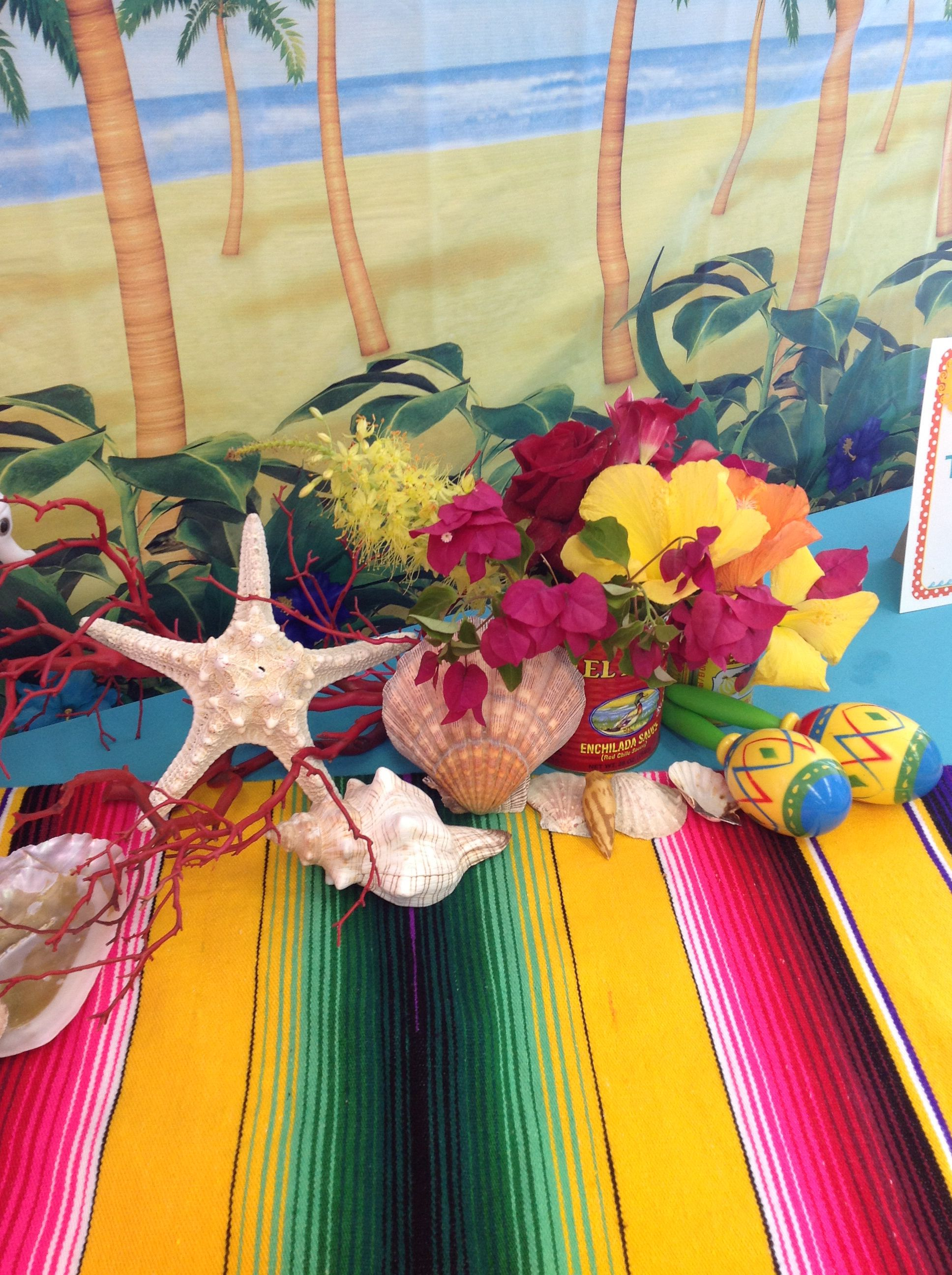 Mexican Beach Theme With Images Mexican Party Theme Beach
