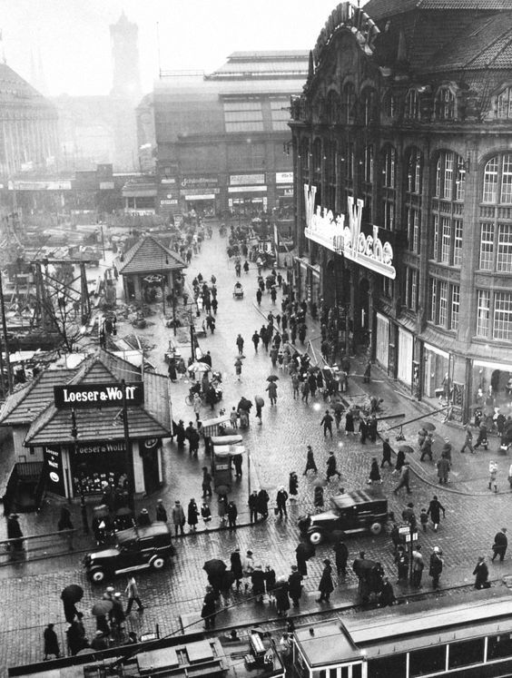1927 30 Berlin Geschichte Berlin Alexanderplatz Berlin