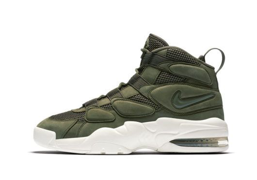 best loved 050c7 6c963 Nike Air Max 2 Uptempo  Military Green and White