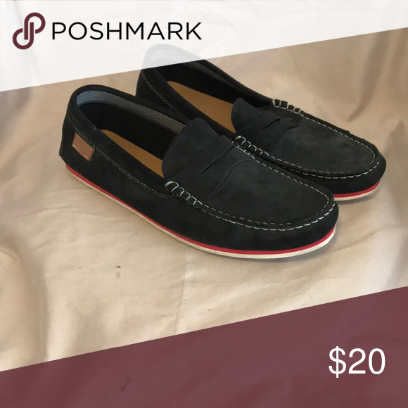 a3f222de190bb Men s Black Lacoste Loafer Black with red stripe. Men s loafer. Size 9.5  Lacoste Shoes