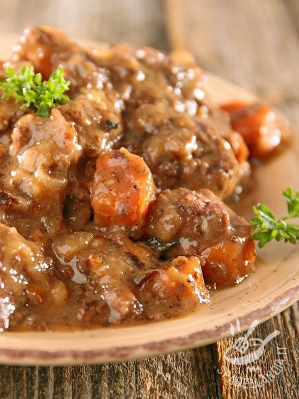 Photo of Beer stew with carrots