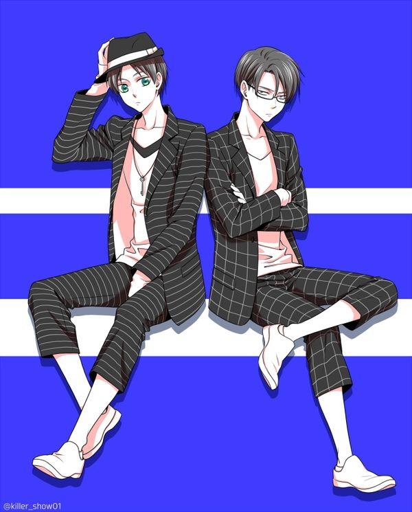Eren and Levi