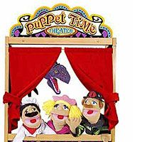 "Melissa & Doug Deluxe Wooden Puppet Theatre - Melissa & Doug - Toys ""R"" Us"