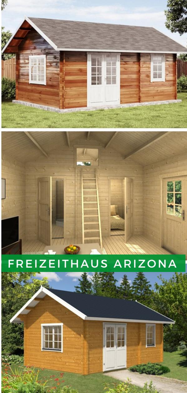 Satteldach Modern Freizeithaus Arizona Haus Satteldach Modern Gartenhaus