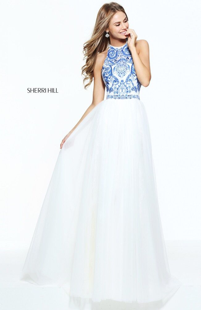 You have been sent a photo from Sherri Hill\'s Spring 2017 collection ...