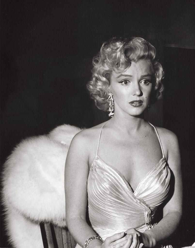 Marilyn Monroe, at the Shrine Auditorium, Los Angeles, 1953