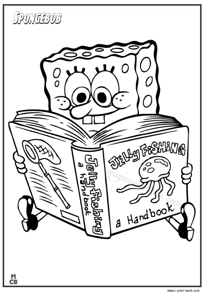 Spongebob Coloring Pages Raskraski Podelki Kartinki