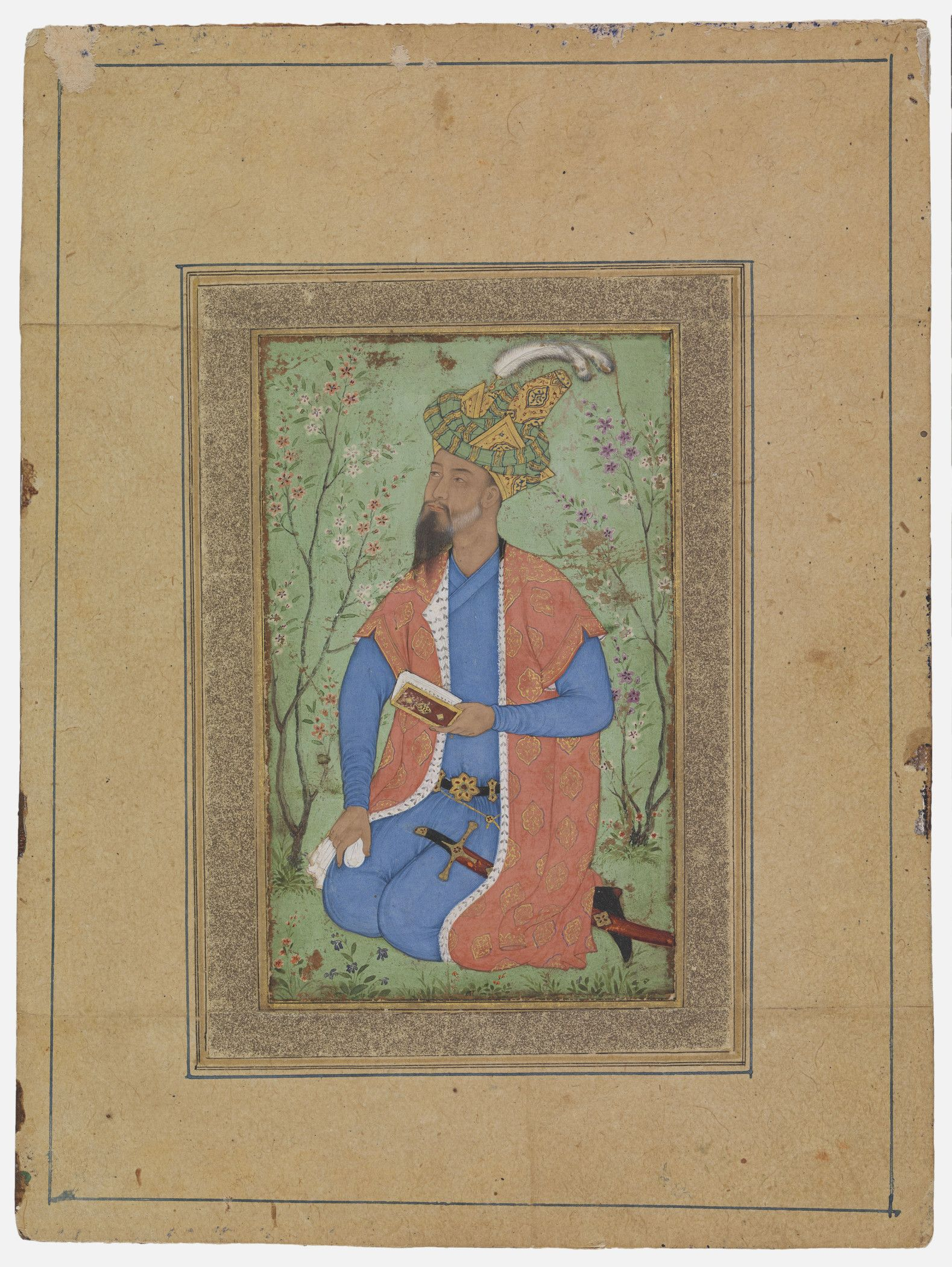 Mirza Hindal, son of Babur, in a Garden | Mughal Princes | Pinterest ...