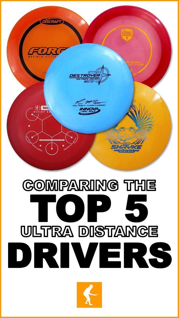 The 6 Best Ultra Distance Drivers Disc Golf Golf Drivers Frisbee Golf