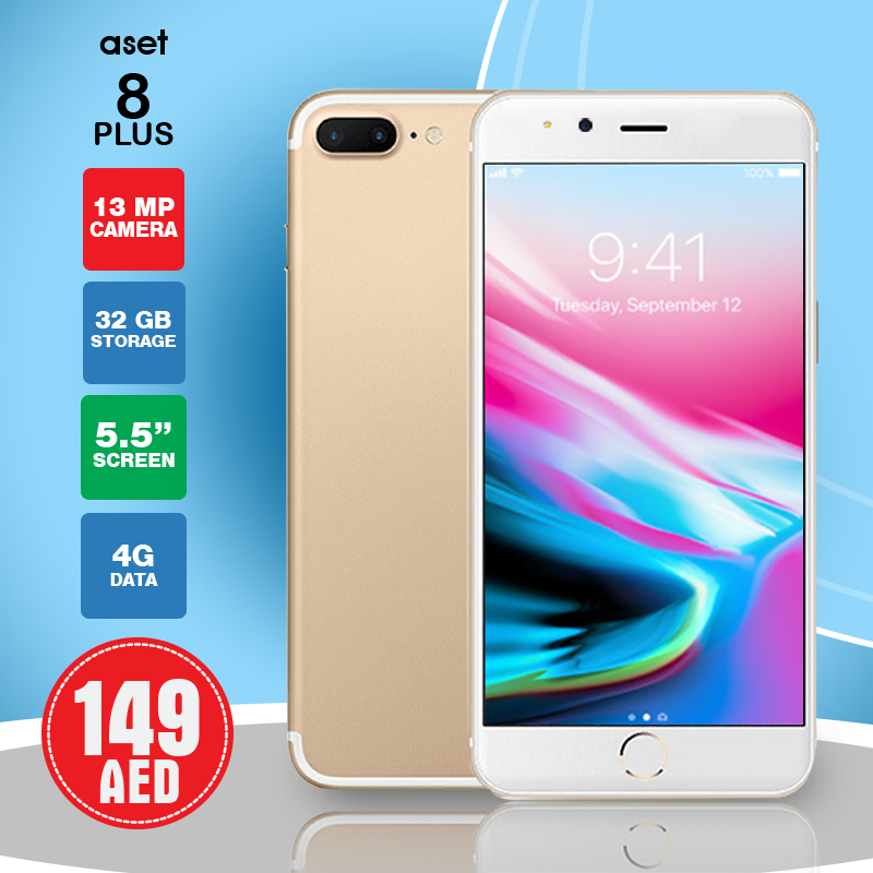 ASET 8 Plus - 4G 32GB Dual Sim,5 5 Inch Screen, Gold in 2019 | Daily