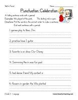 Fancy correct sentences worksheet information