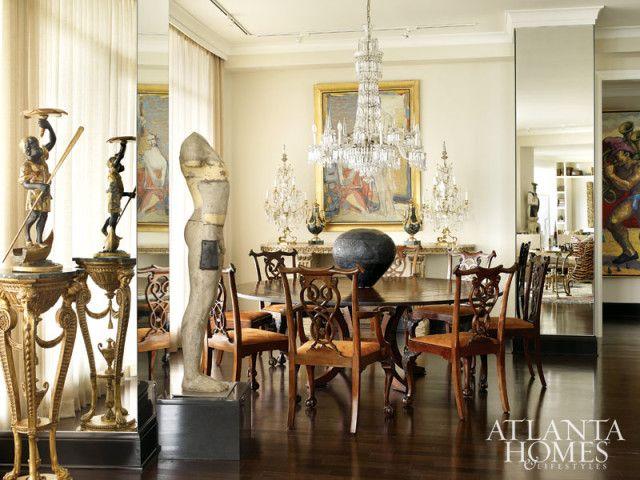 Kudosrakenne maalaus Olena Zvyagintseva alkaen Tew galleriat tarjoaa pehmeän folio runsaus marmori konsolin päällä pari ranskalaisen girandoles.