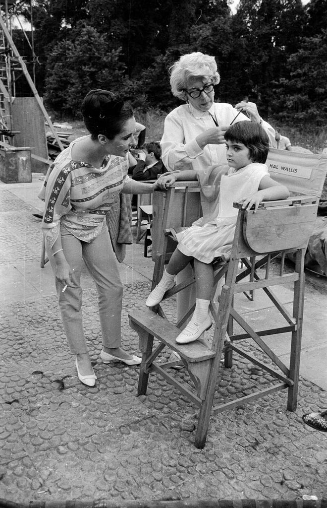 Elizabeth Taylor and her daughter