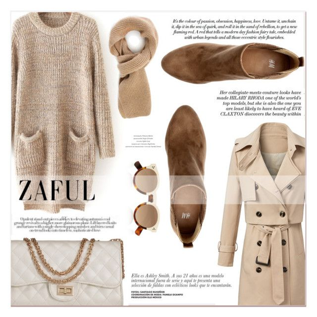 """""""www.zaful.com/?lkid=7011"""" by lucky-1990 ❤ liked on Polyvore featuring moda, H&M, Illesteva e zaful"""