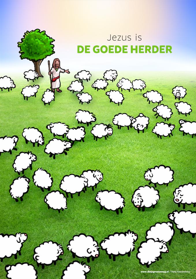 Jezus Is De Goede Herder Thema De Goede Herder