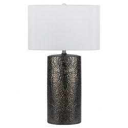 Brava Table Lamp in Nickel