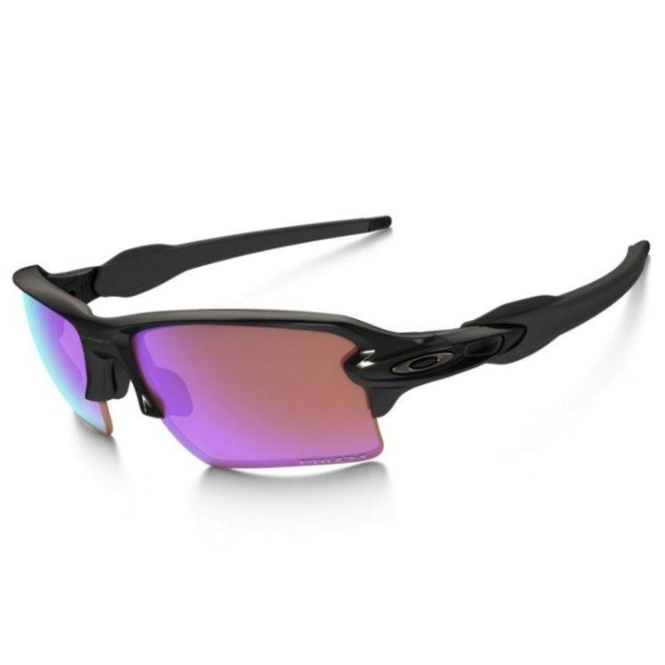 3595592c87 Oakley FLAK 2.0 OO9188-05 Black w PRIZM GOLF XL Lens 100% Authentic  fashion   clothing  shoes  accessories  mensaccessories   sunglassessunglassesaccessories ...
