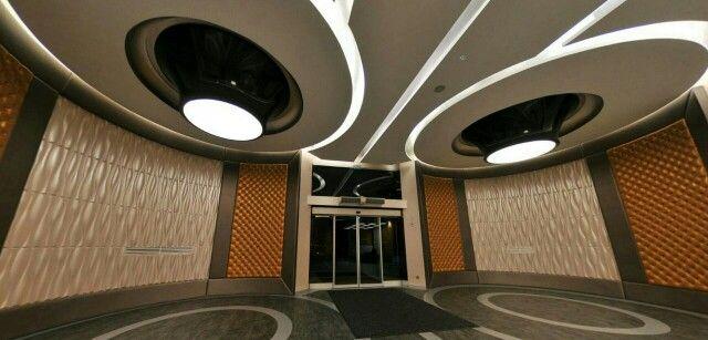 Stretch ceiling lighting design
