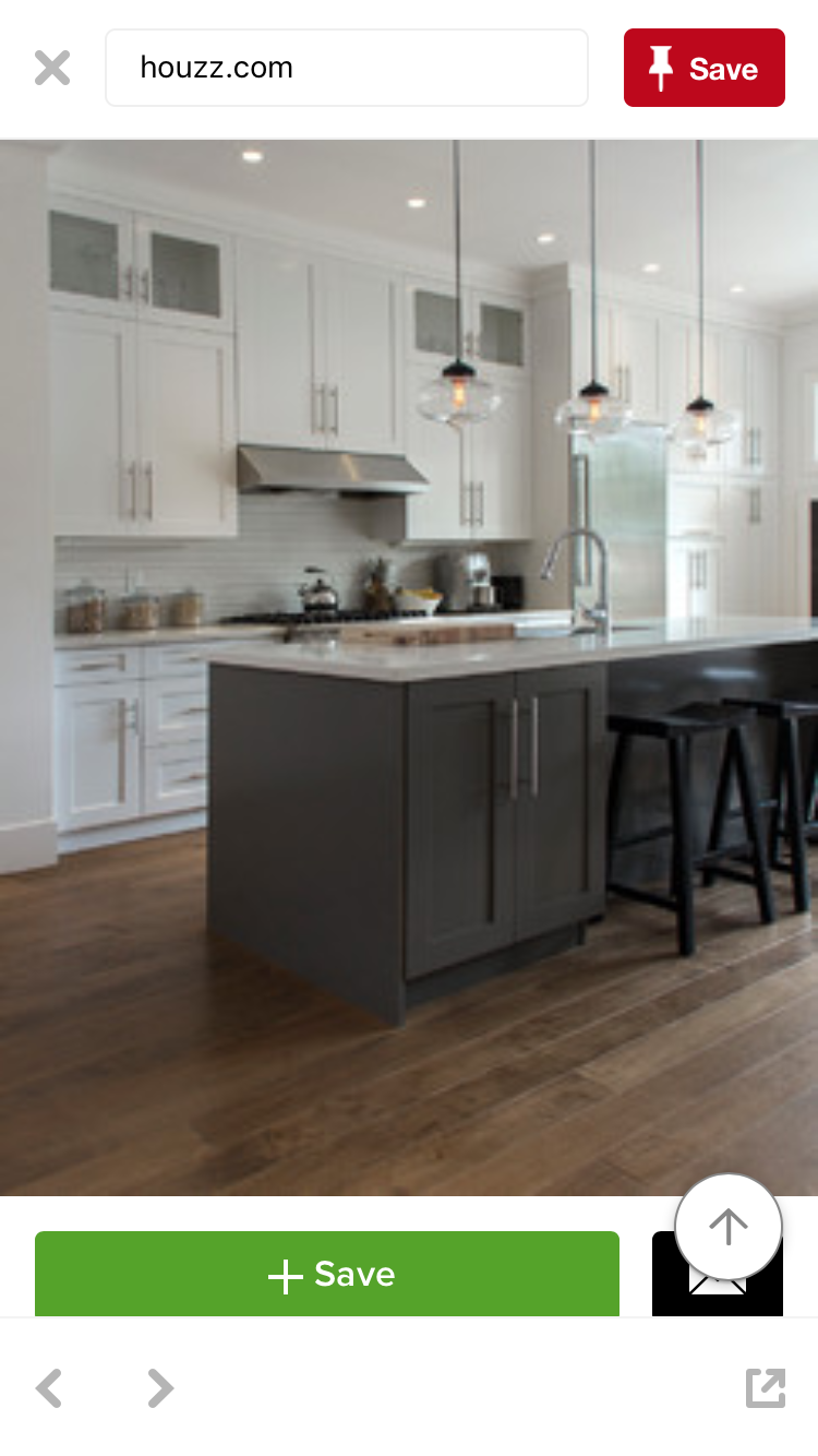 Island Painted Kendall Charcoal Bm Hc 166 New Kitchen Cabinets Kitchen Renovation Kitchen Design