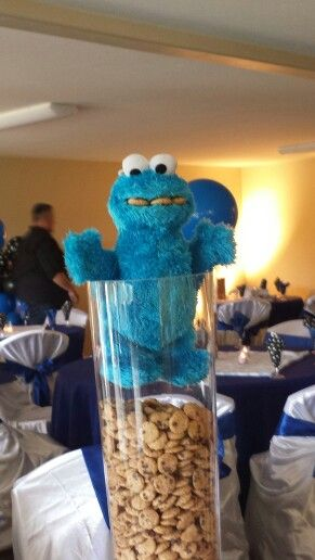 Cookie Monster Theme Baby Shower 03/29/14