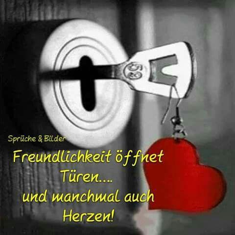 ...Freundlichkeit öffnet Türen......!!!