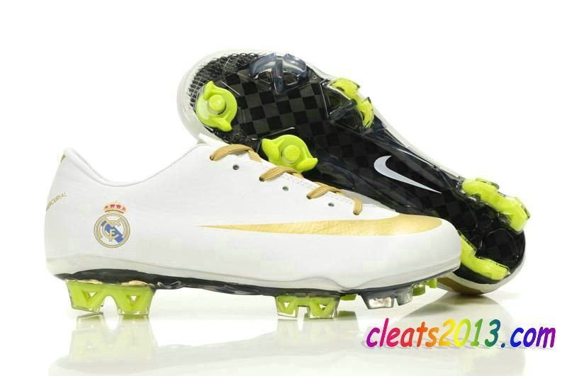Mercurial Nike Vapor Vii Superfly Gold White Iii Real Madrid Fg l1cKTFJ3