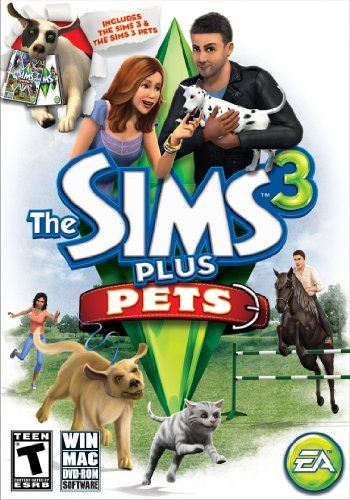 The Sims 3 Plus Pets Pc Mac Games The Sims 3 Pets Sims Pets Sims 3
