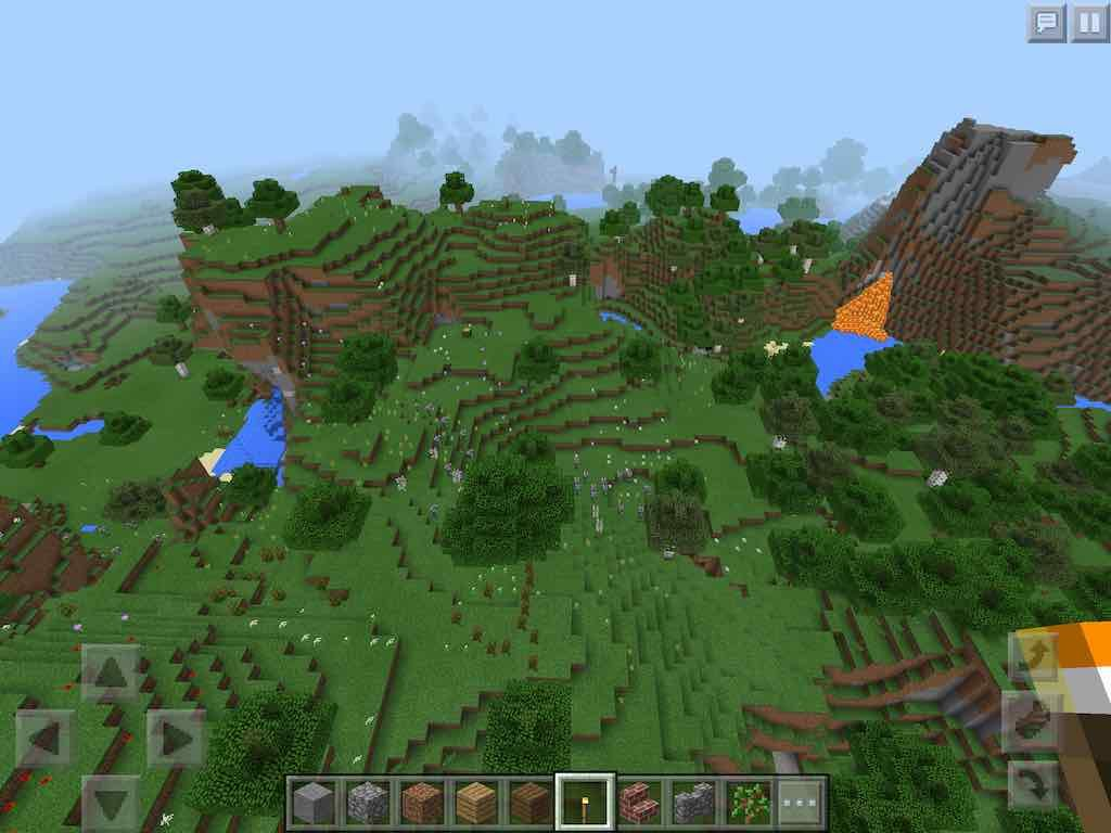 Cool Flower Forest Seed for PE - MCPE HQ  Amazing flowers, Seeds