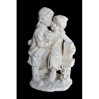Ophelia & Co. Grigsby Kiss by the Fence Statue #greekstatue